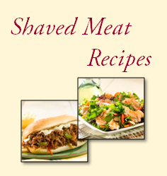 Old Neighborhood Foods Shaved Meat Recipes