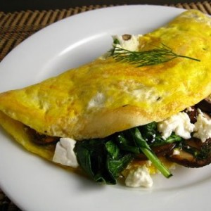cheese omelet roll goat cheese and fresh herb omelet broccoli cheese ...