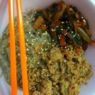 Korean Jap Chae (Sweet Potato Noodles) w_ Shaved Steak