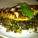 Steak & Cheese Omelet (Broccoli Rabe & Provolone)