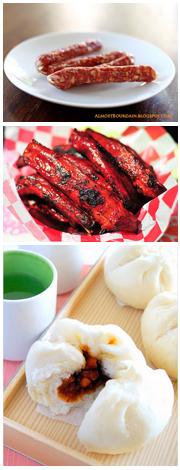 Lap Cheong - BBQ Spare Ribs - Char Siu Bao