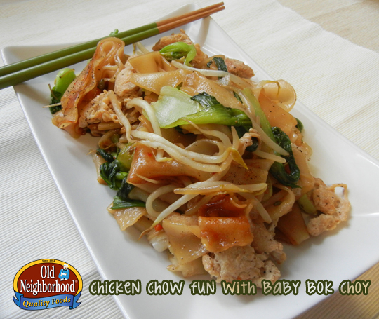 Chicken Chow Fun • Stir Fried Noodles • Shaved Chicken ...
