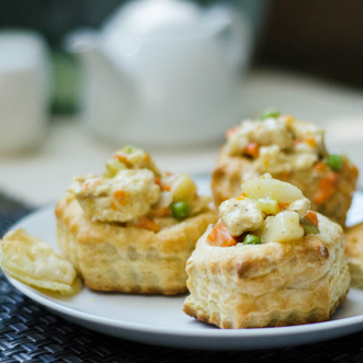 Shaved Chicken Pot Pie
