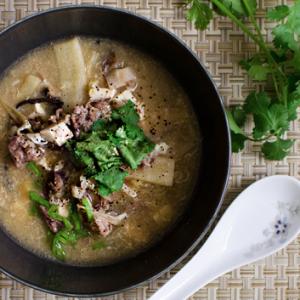 Hot & Sour Soup • Shaved Pork Recipe