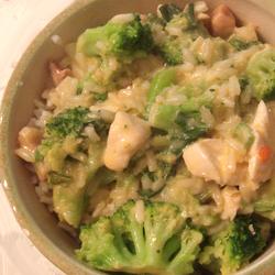 Orsi's Cheesy Shaved Chicken Broccoli Rice Florentine