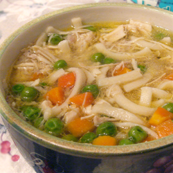 Orsi's Shaved Chicken Noodle Soup